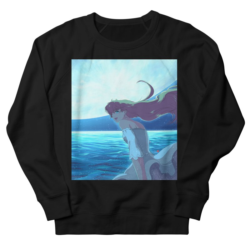 Lunar Descent Men's French Terry Sweatshirt by Designs by Billy Wan