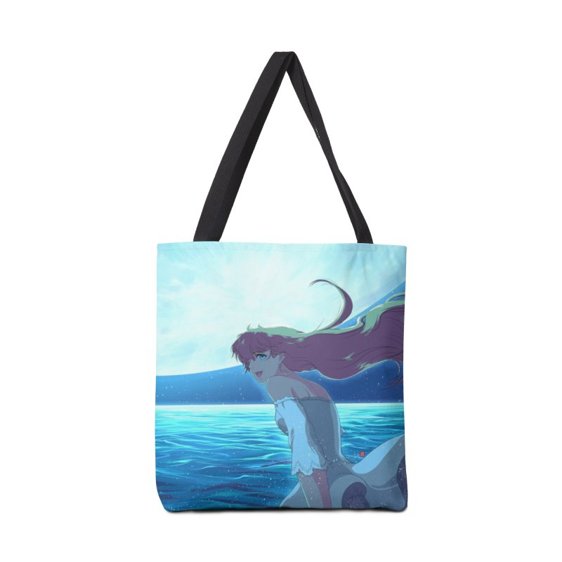 Lunar Descent Accessories Tote Bag Bag by Designs by Billy Wan