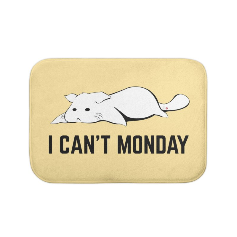 I Can't Monday Home Bath Mat by Designs by Billy Wan