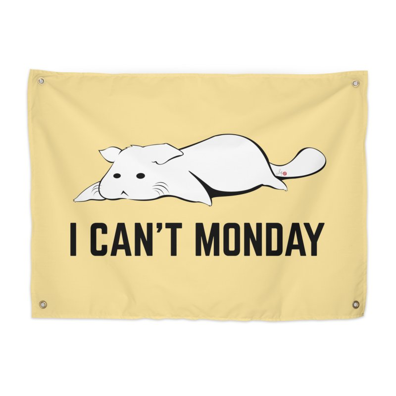 I Can't Monday Home Tapestry by Designs by Billy Wan