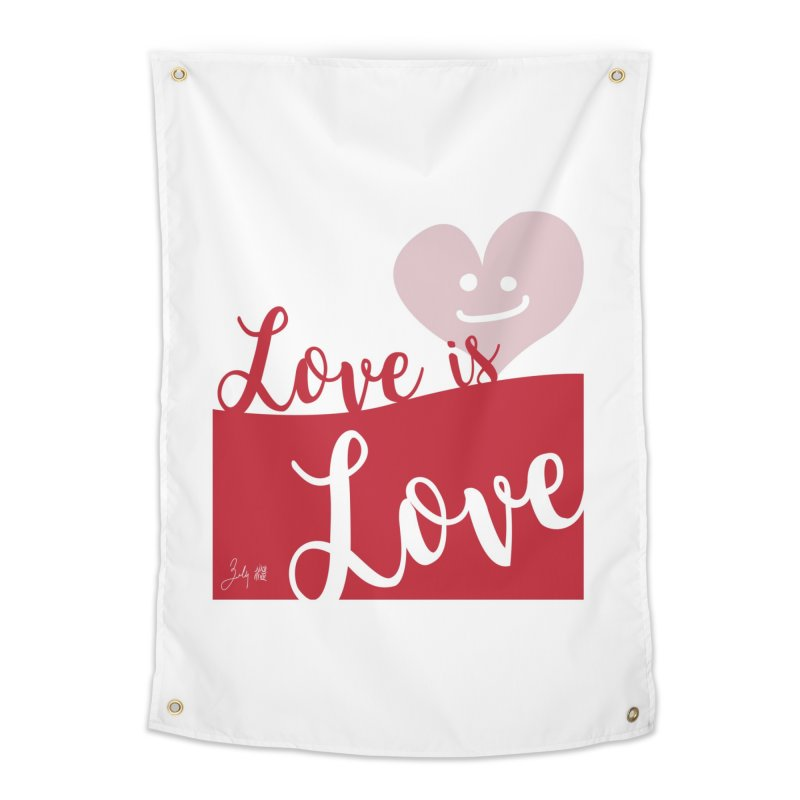 Love is Love Home Tapestry by Designs by Billy Wan