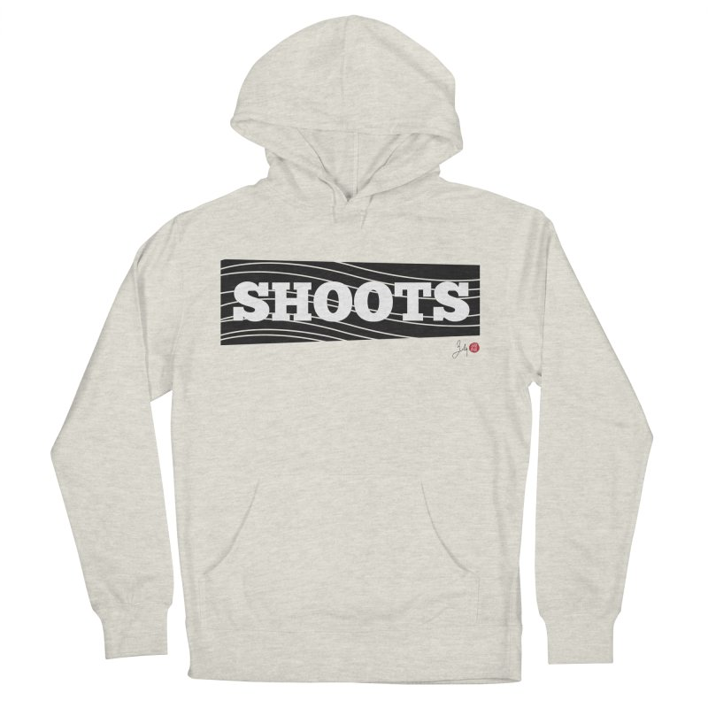 Shoots Men's French Terry Pullover Hoody by Designs by Billy Wan