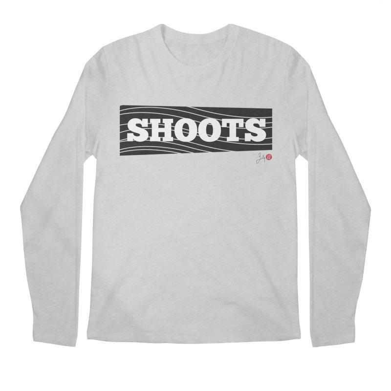 Shoots Men's Regular Longsleeve T-Shirt by Designs by Billy Wan