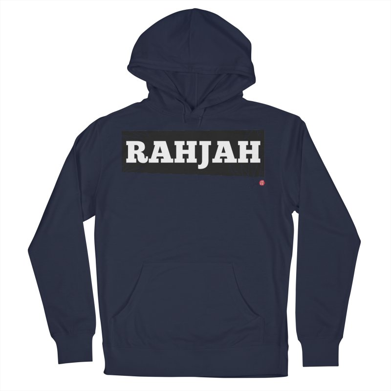 Rahjah Men's French Terry Pullover Hoody by Designs by Billy Wan