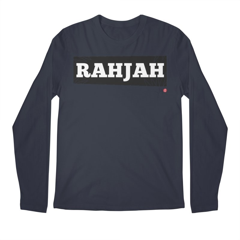 Rahjah Men's Regular Longsleeve T-Shirt by Designs by Billy Wan