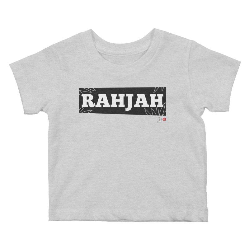 Rahjah Kids Baby T-Shirt by Designs by Billy Wan