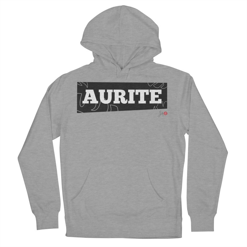 Aurite Men's French Terry Pullover Hoody by Designs by Billy Wan