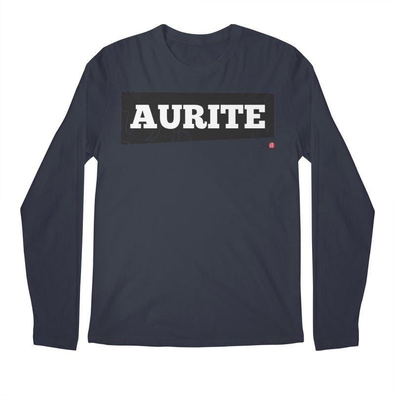 Aurite Men's Regular Longsleeve T-Shirt by Designs by Billy Wan