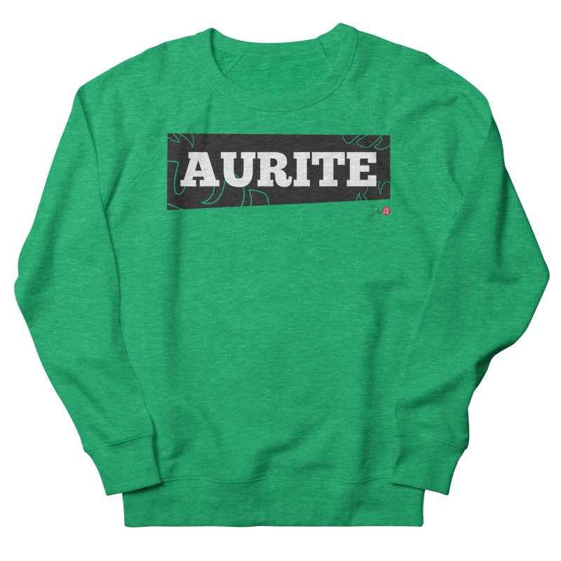 Aurite Women's French Terry Sweatshirt by Designs by Billy Wan