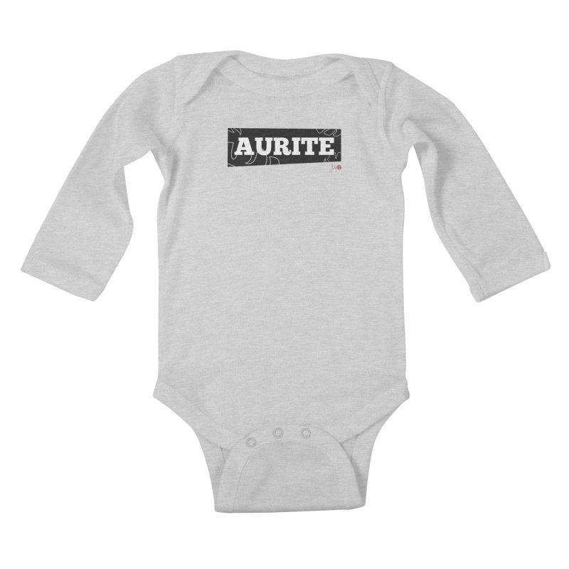 Aurite Kids Baby Longsleeve Bodysuit by Designs by Billy Wan
