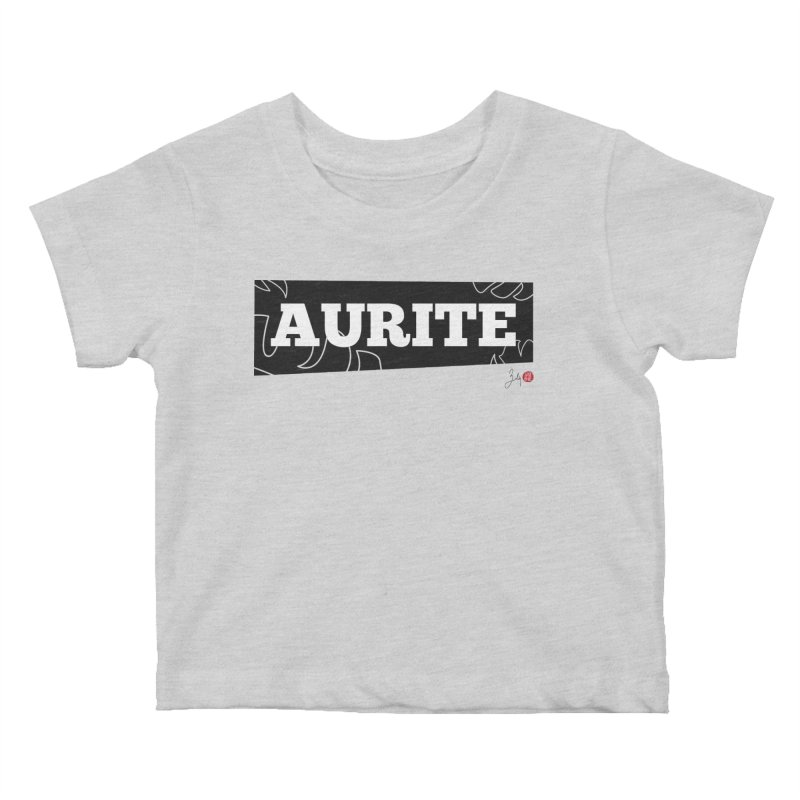 Aurite Kids Baby T-Shirt by Designs by Billy Wan