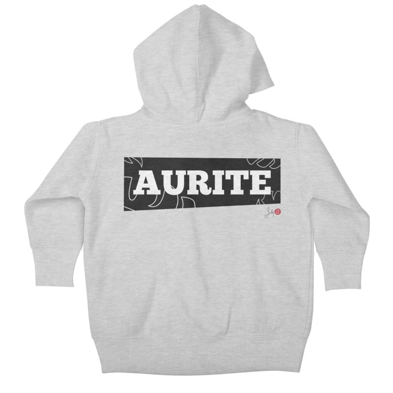 Aurite Kids Baby Zip-Up Hoody by Designs by Billy Wan