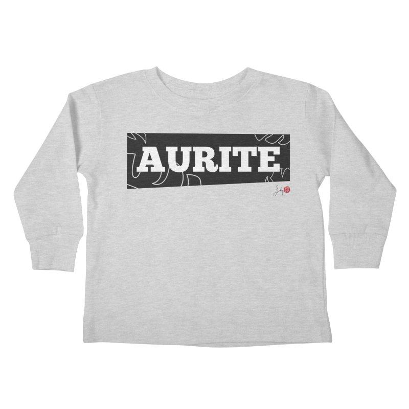 Aurite Kids Toddler Longsleeve T-Shirt by Designs by Billy Wan