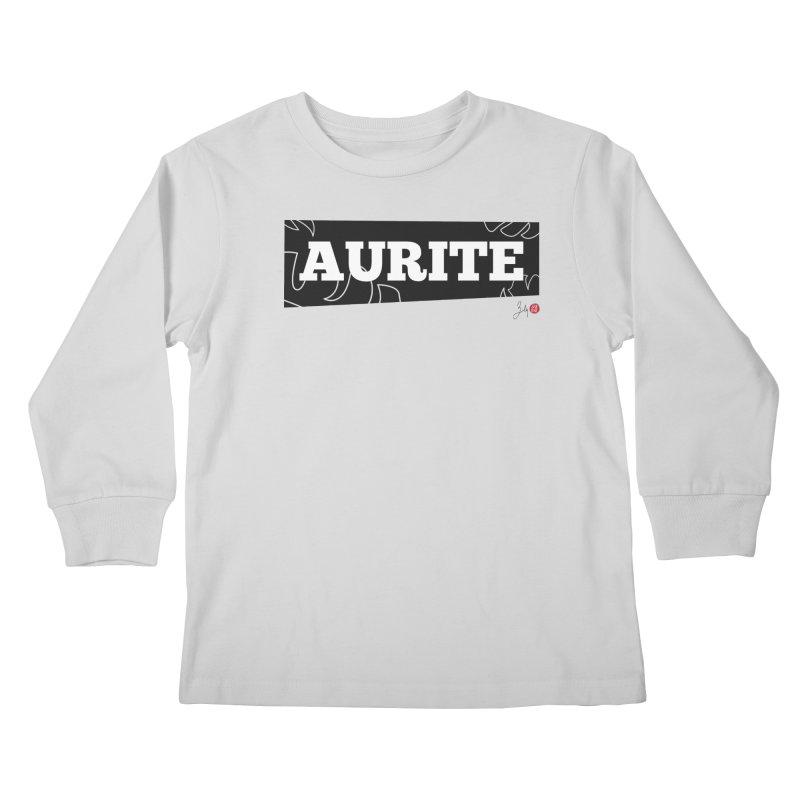 Aurite Kids Longsleeve T-Shirt by Designs by Billy Wan