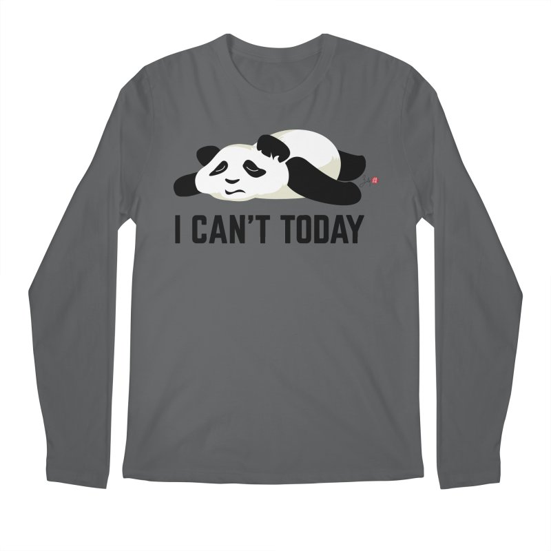 I Can't Today Men's Regular Longsleeve T-Shirt by Designs by Billy Wan