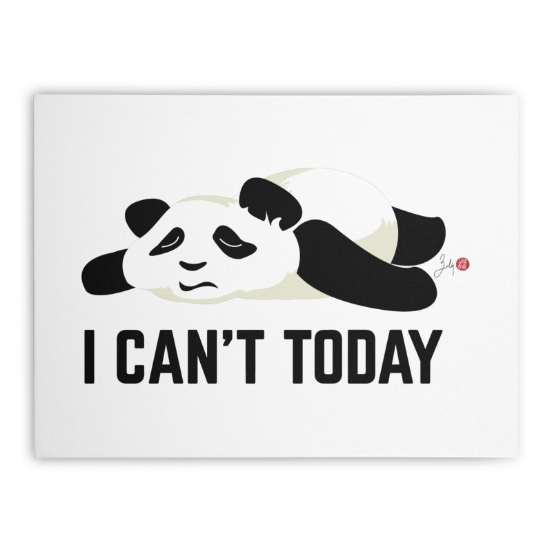 I Can't Today Home Rug by Designs by Billy Wan