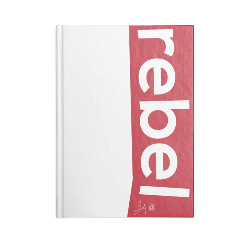Rebel Accessories Lined Journal Notebook by Designs by Billy Wan