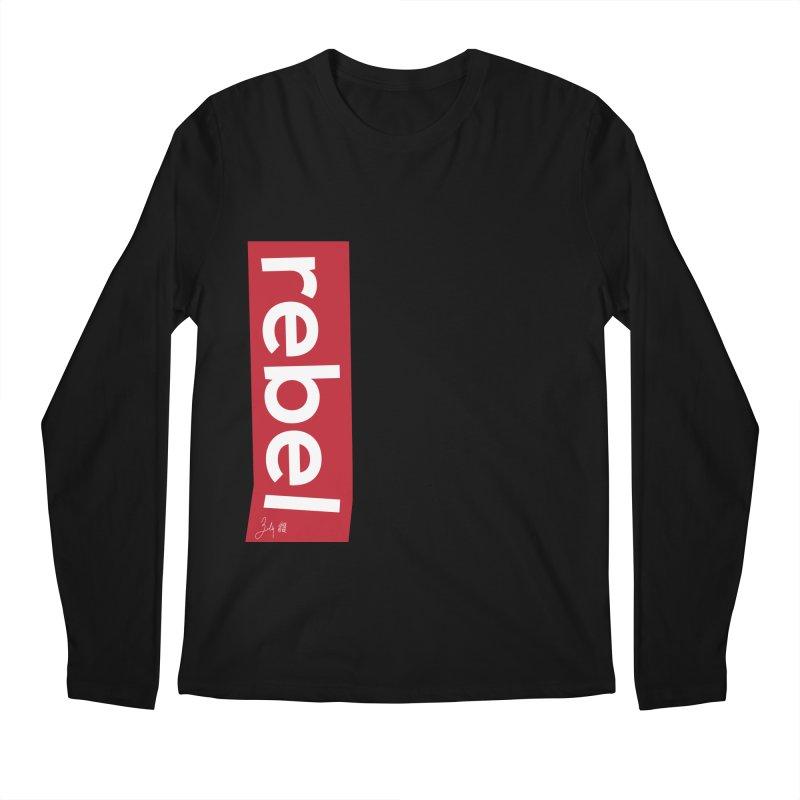 Rebel Men's Regular Longsleeve T-Shirt by Designs by Billy Wan