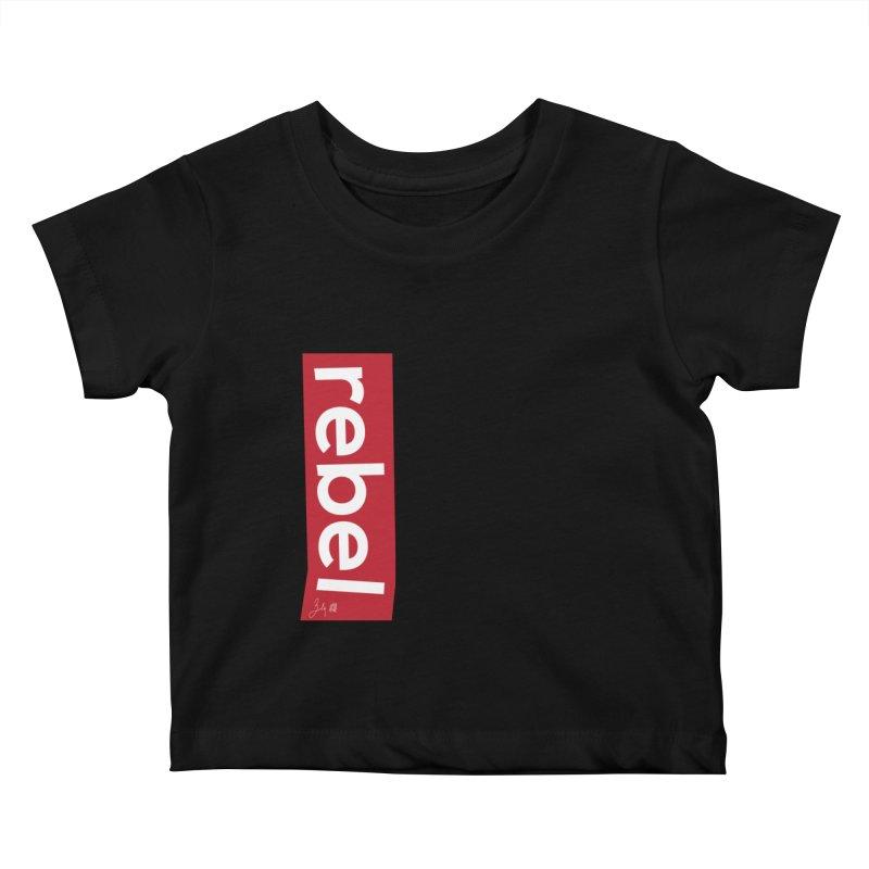 Rebel Kids Baby T-Shirt by Designs by Billy Wan