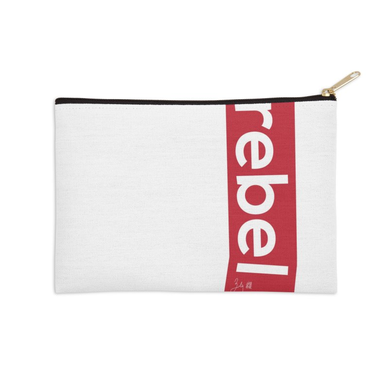 Rebel Accessories Zip Pouch by Designs by Billy Wan
