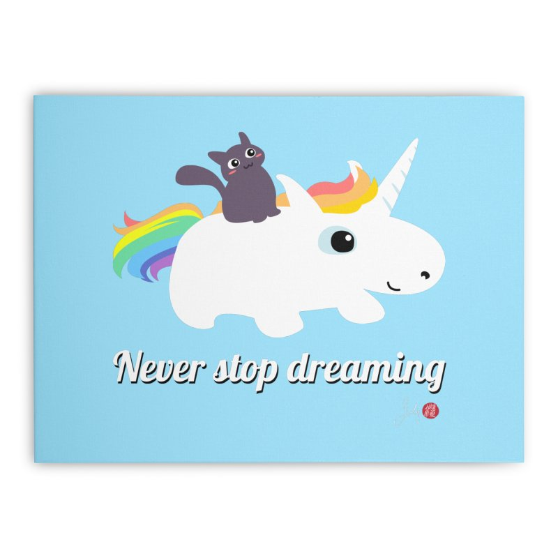 Never Stop Dreaming Home Rug by Designs by Billy Wan
