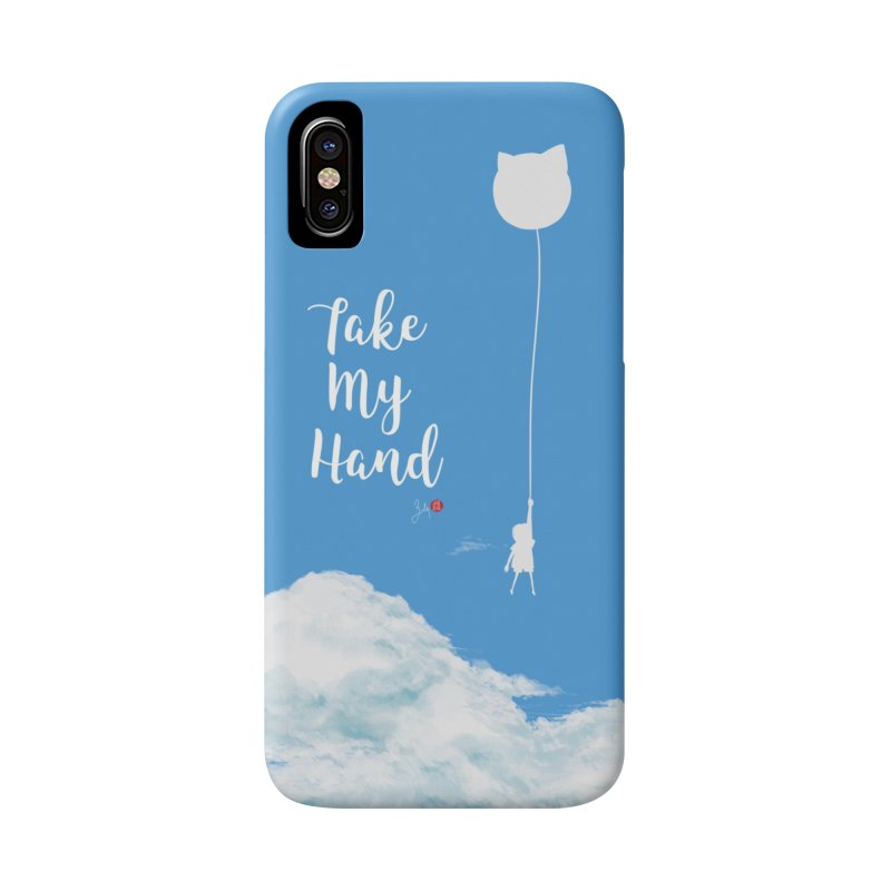 Take My Hand Accessories Phone Case by Designs by Billy Wan
