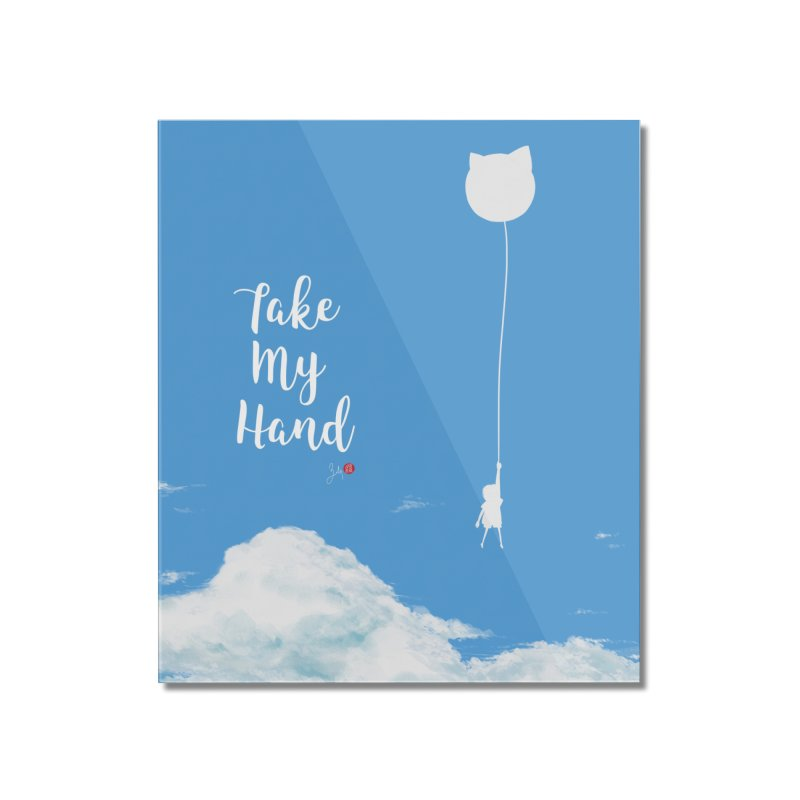 Take My Hand Home Mounted Acrylic Print by Designs by Billy Wan