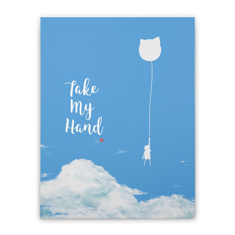 Take My Hand Home Stretched Canvas by Designs by Billy Wan