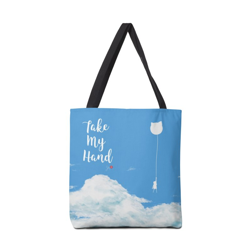 Take My Hand Accessories Bag by Designs by Billy Wan