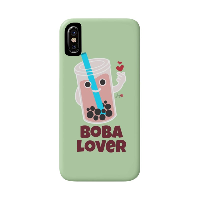 Boba Lover Accessories Phone Case by Designs by Billy Wan