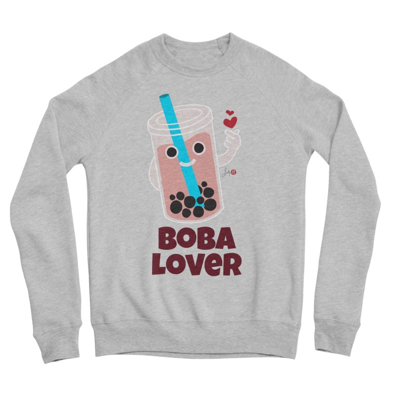 Boba Lover Women's Sponge Fleece Sweatshirt by Designs by Billy Wan