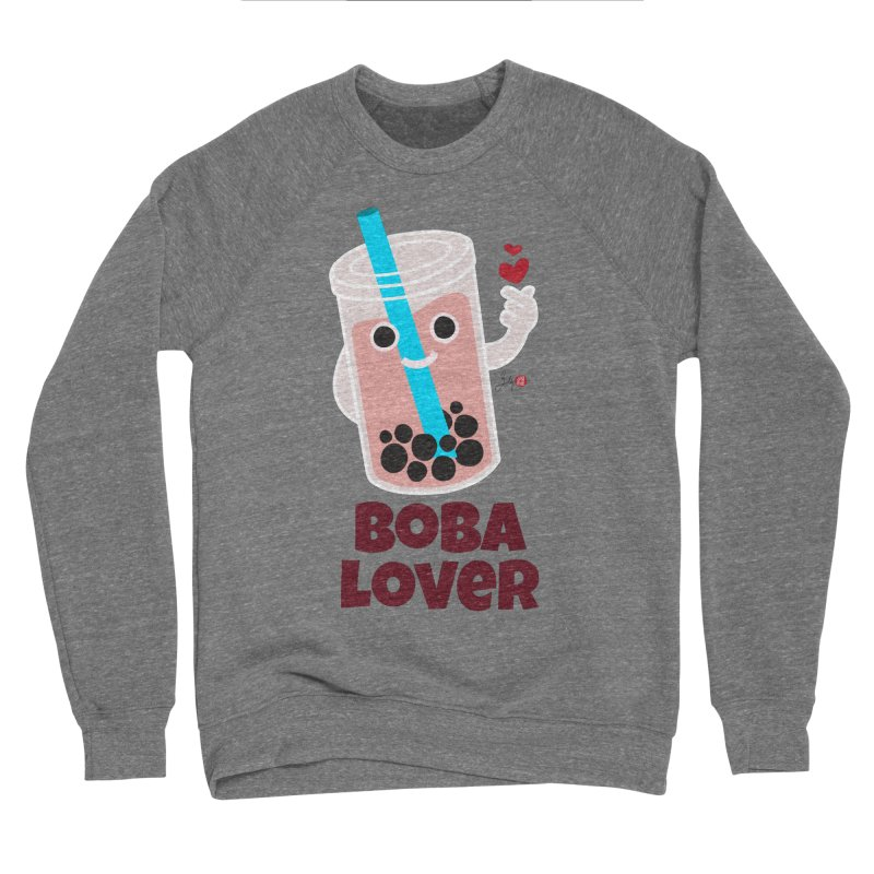 Boba Lover Men's Sponge Fleece Sweatshirt by Designs by Billy Wan
