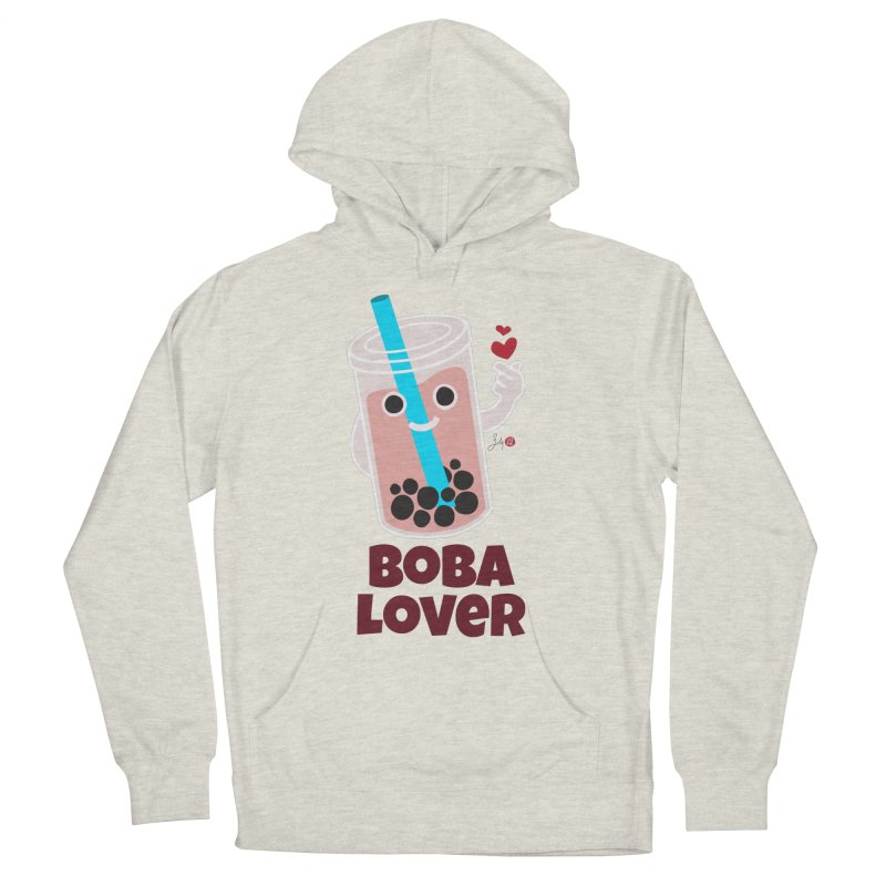 Boba Lover Men's Pullover Hoody by Designs by Billy Wan