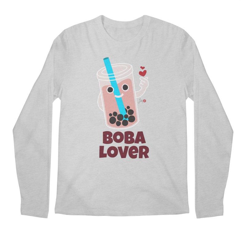 Boba Lover Men's Longsleeve T-Shirt by Designs by Billy Wan