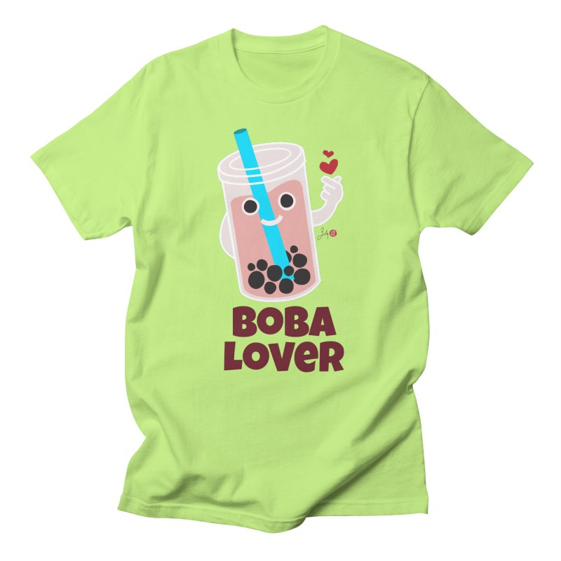 Boba Lover Men's Regular T-Shirt by Designs by Billy Wan
