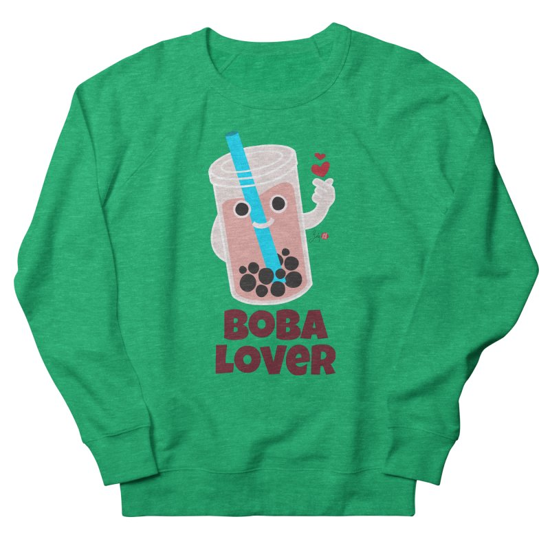 Boba Lover Women's French Terry Sweatshirt by Designs by Billy Wan