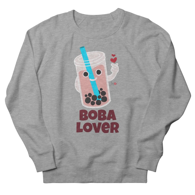 Boba Lover Men's French Terry Sweatshirt by Designs by Billy Wan