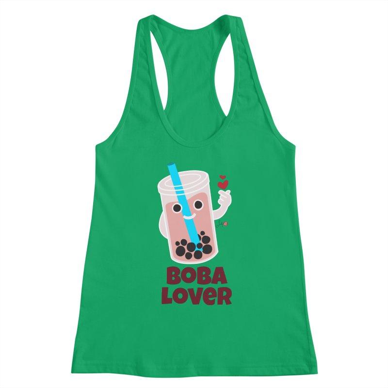 Boba Lover Women's Tank by Designs by Billy Wan