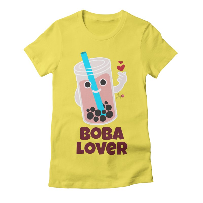Boba Lover Women's T-Shirt by Designs by Billy Wan