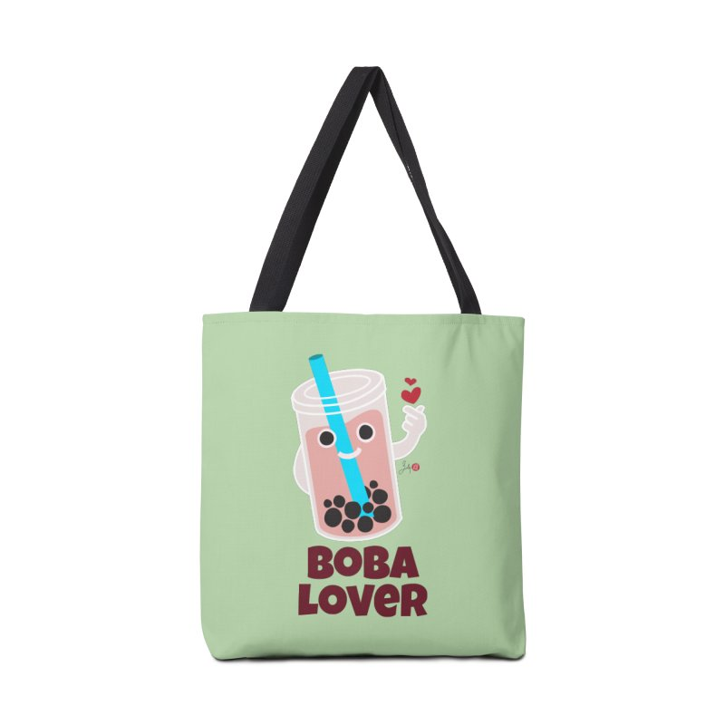 Boba Lover Accessories Bag by Designs by Billy Wan
