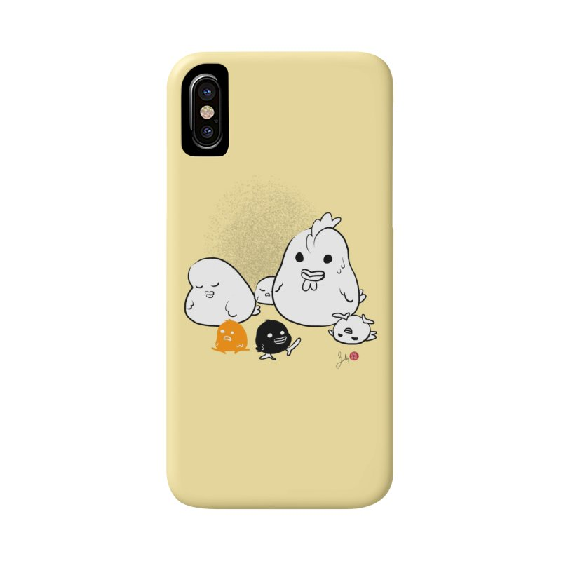 The Chicken Family Accessories Phone Case by Designs by Billy Wan