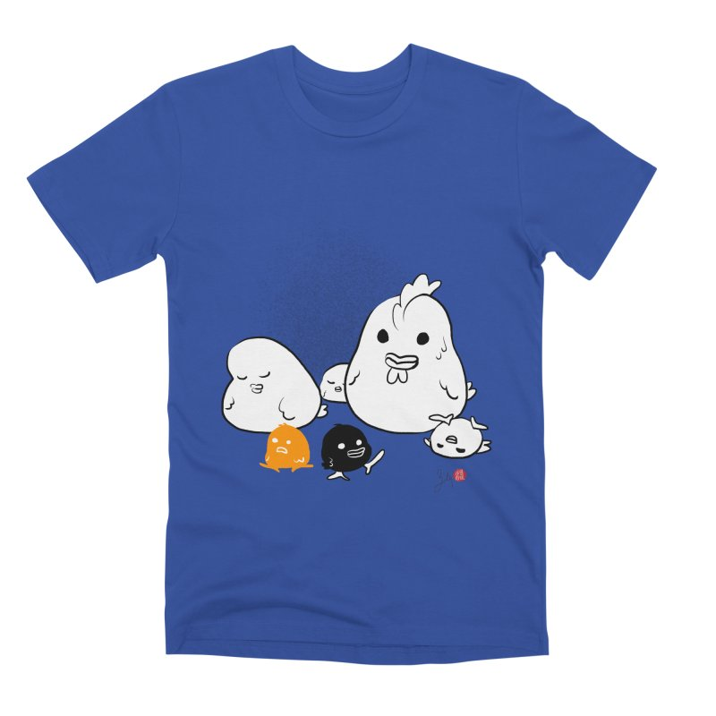 The Chicken Family Men's T-Shirt by Designs by Billy Wan