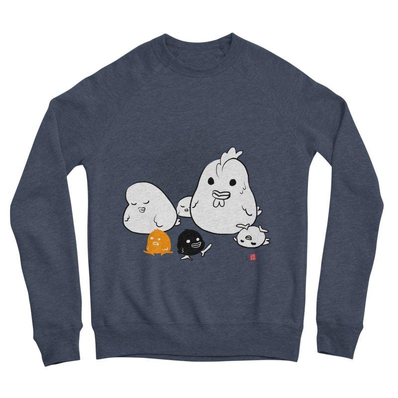 The Chicken Family Women's Sponge Fleece Sweatshirt by Designs by Billy Wan