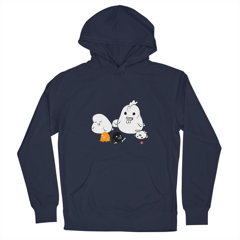 The Chicken Family Men's Pullover Hoody by Designs by Billy Wan