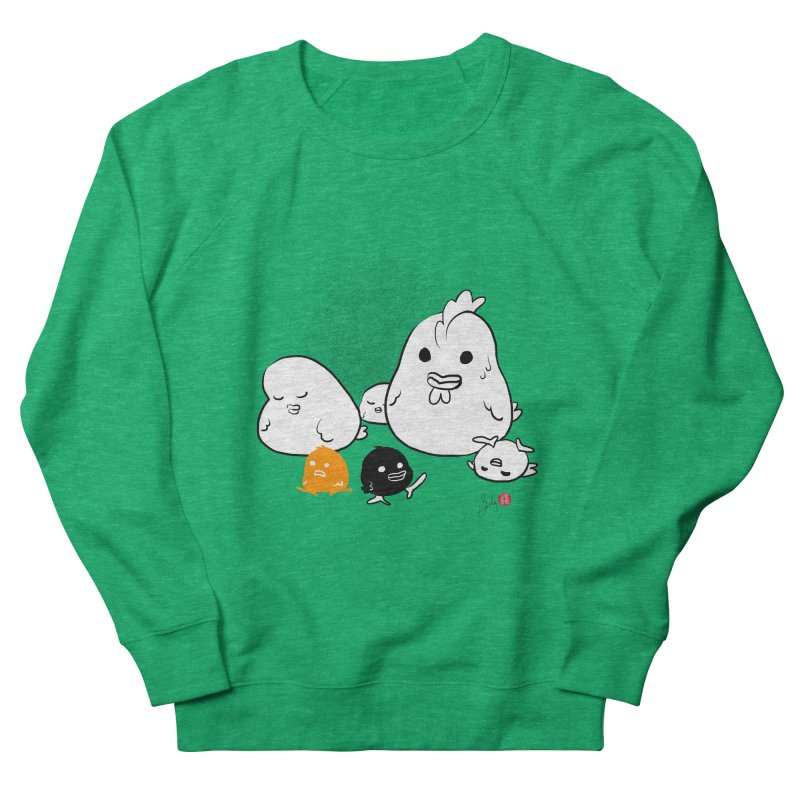 The Chicken Family Women's Sweatshirt by Designs by Billy Wan
