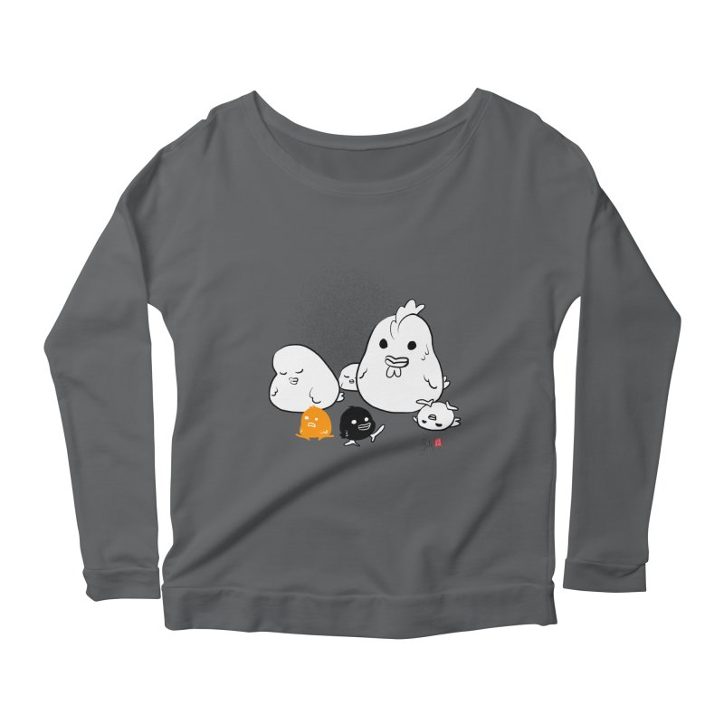The Chicken Family Women's Longsleeve T-Shirt by Designs by Billy Wan