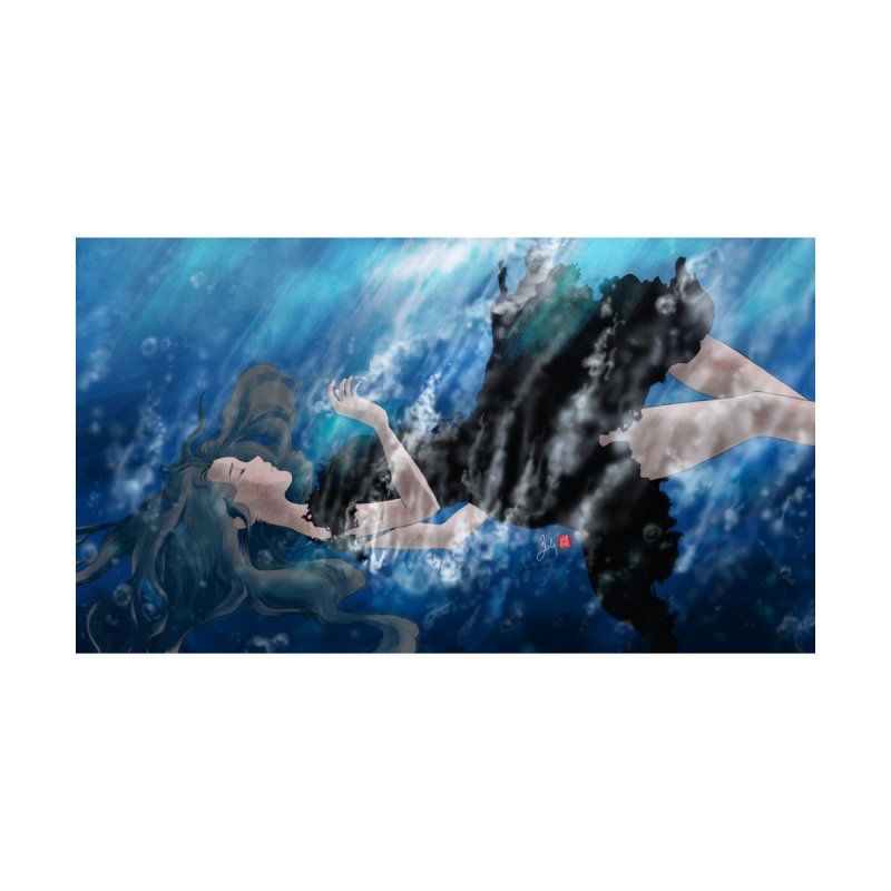 Underwater Home Mounted Aluminum Print by Designs by Billy Wan