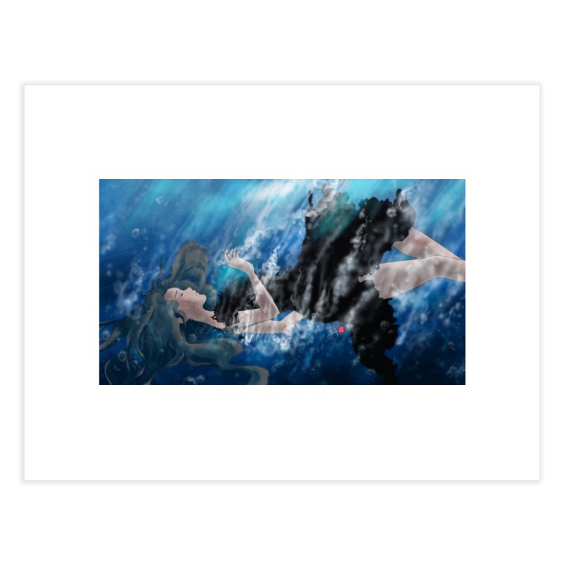 Underwater Home Fine Art Print by Designs by Billy Wan