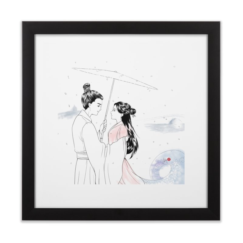 Birth of a Fairy Tale Home Framed Fine Art Print by Designs by Billy Wan