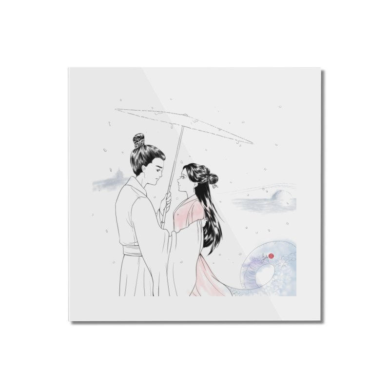 Birth of a Fairy Tale Home Mounted Acrylic Print by Designs by Billy Wan
